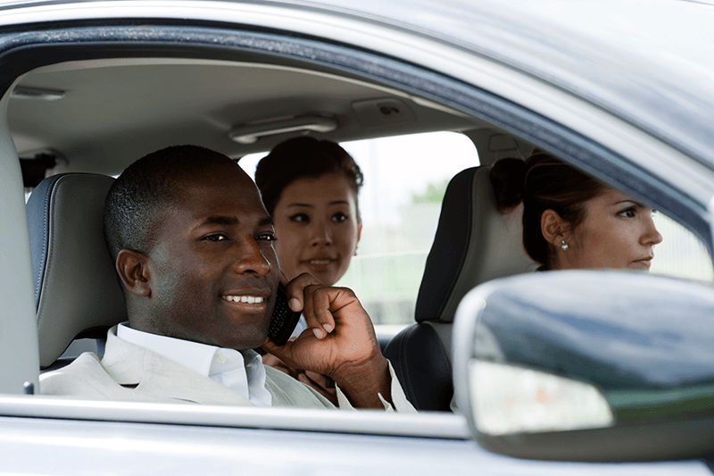 (3) People Driving in a Car - D.G. Bevan Personal Insurance Brokers- Auto/Car Insurance