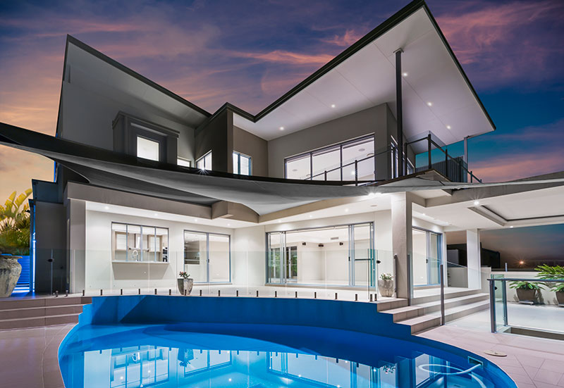 Contemporary Home with Swimming Pool - High Value Home Insurance Ontario - DG Bevan Insurance Brokers